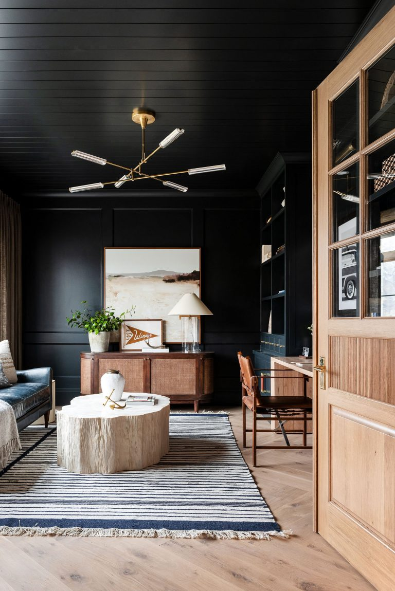 Dark & Moody Home Office