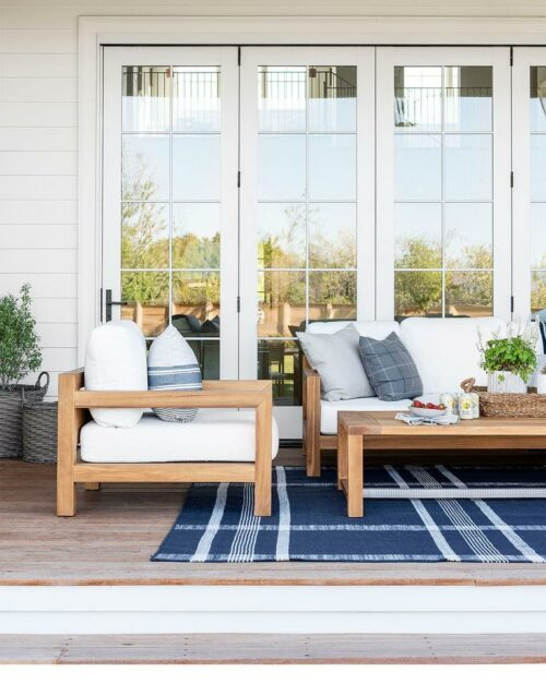 Edina Plaid Indoor/Outdoor Rug