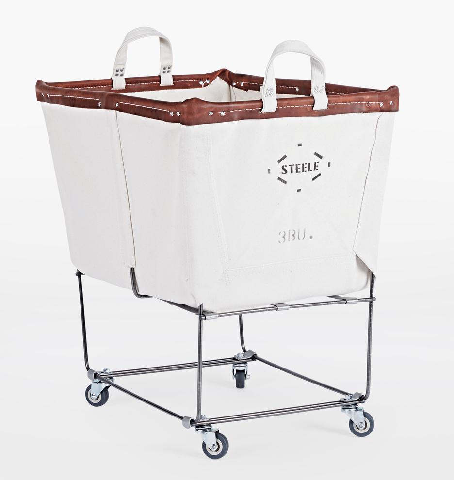 Steele Canvas 3 Bushel Laundry Bin