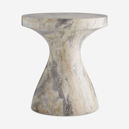 Arteriors Serafina Side Table, Sahara