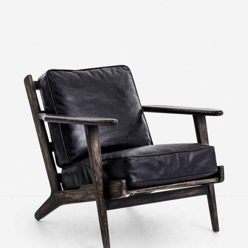 Austin Accent Chair, Black