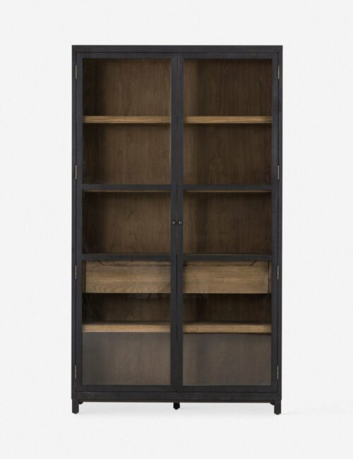 Carly Curio Cabinet
