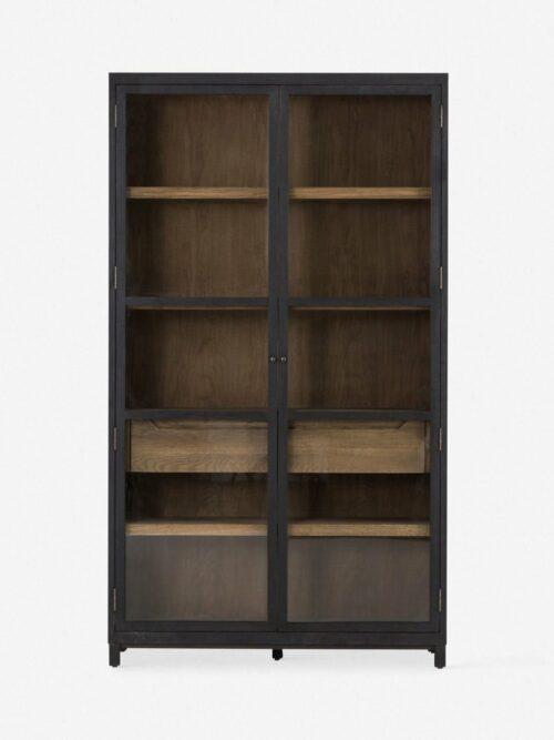 Carly Curio Cabinet