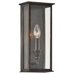Chauncey Outdoor Wall Sconce by Troy Lighting - Color: Bronze - Finish: Vintage Bronze - (B6991)