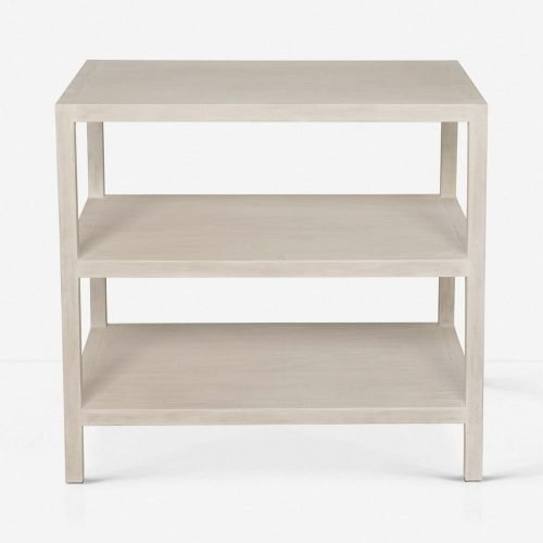 Emmeline Nightstand, White Wash