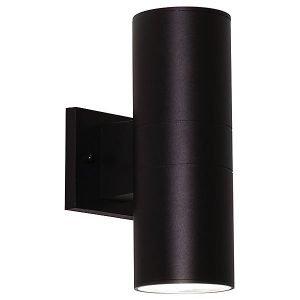 Everly Two Light LED Outdoor Sconce by AFX Lighting - Color: Black - Finish: Black - (EVYW070418L30MVBK)