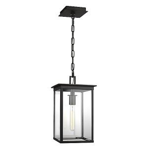 Freeport Outdoor Small Pendant Light by Chapman & Myers - Color: Clear - Finish: Heritage Copper - (CO1141HTCP)