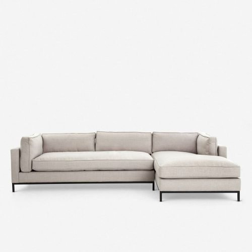 Fritzie Right-Facing Sectional Sofa, Natural