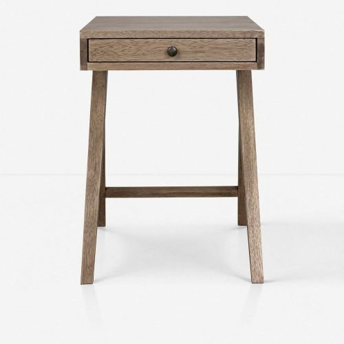 Hendrik Nightstand, Washed Walnut