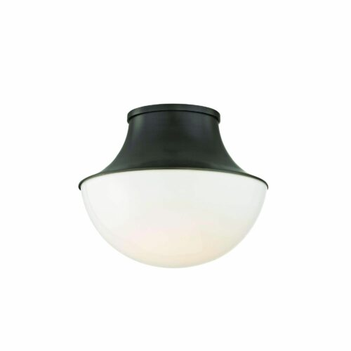 Hudson Valley Lighting Lettie 10 Inch 1 Light LED Flush Mount Lettie - 9411-OB - Transitional