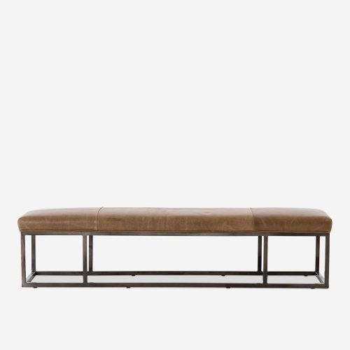 Kabina Leather Bench