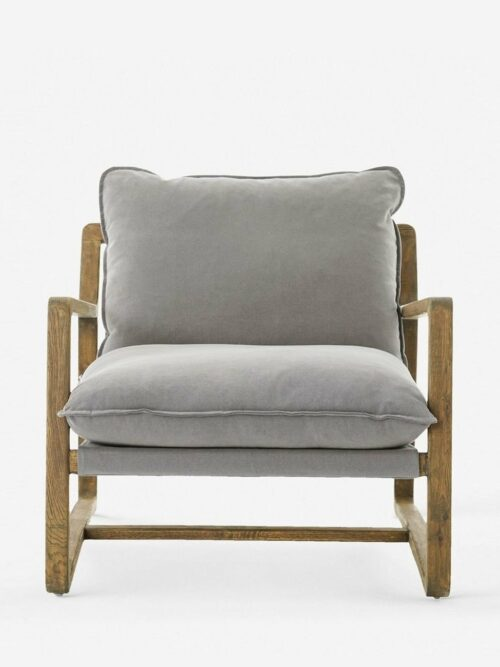 Krista Accent Chair, Robson Pewter