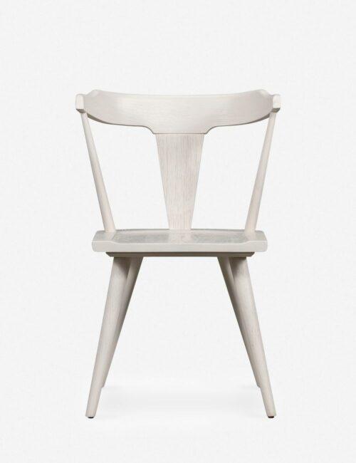 Lawnie Dining Chair, White Oak