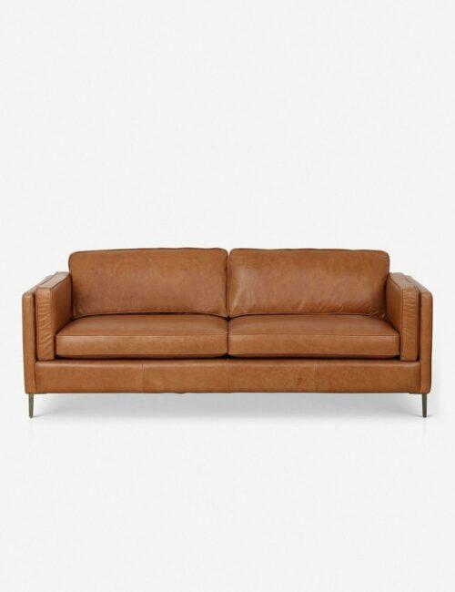 Orielle Leather Sofa