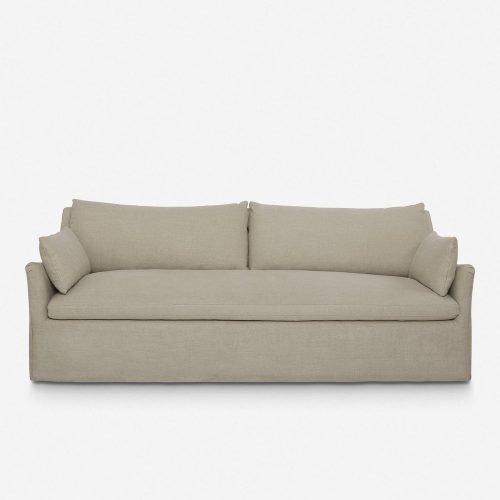 Portola Slipcover Sofa, Flax
