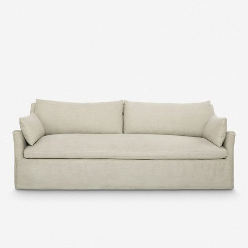 Portola Slipcover Sofa, Natural