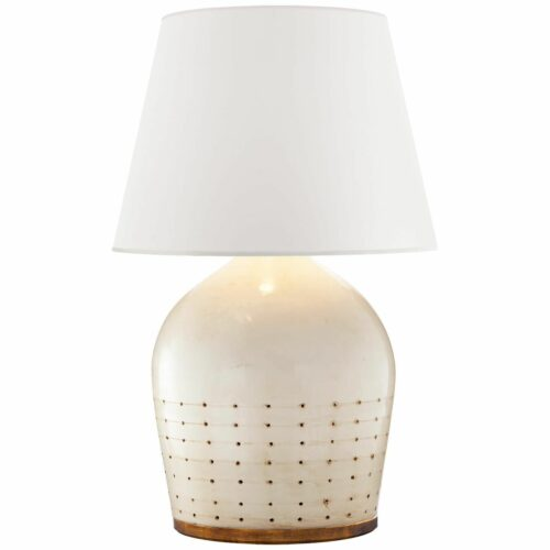 Ralph Lauren Ralph Lauren Halifax 27 Inch Table Lamp Halifax - RL 3633ICO-WP - Transitional