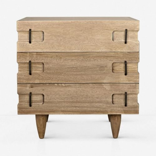 Seline Nightstand, Walnut