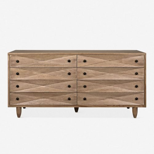 Sen 8-Drawer Dresser, Washed Walnut