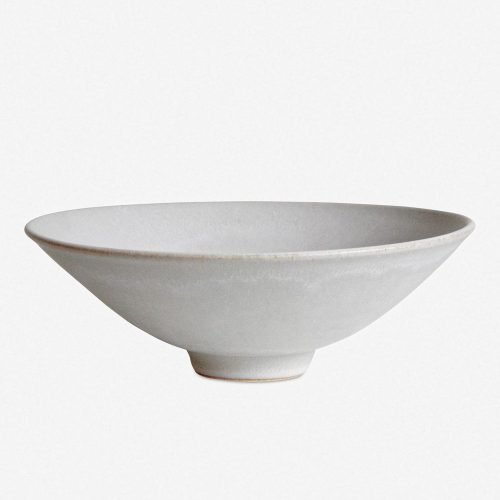 Sheldon Ceramics Flared Bowl, Stone
