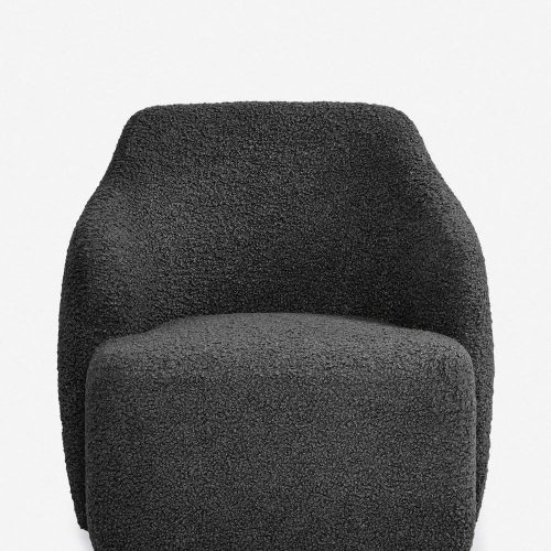 Tobi Swivel Chair, Slate