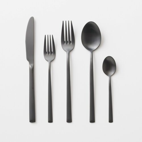 Elevated Flatware - Matte Black