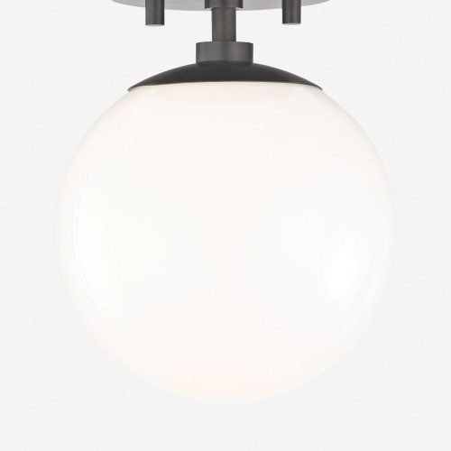 Lia Semi-Flush Mount Light, Old Bronze