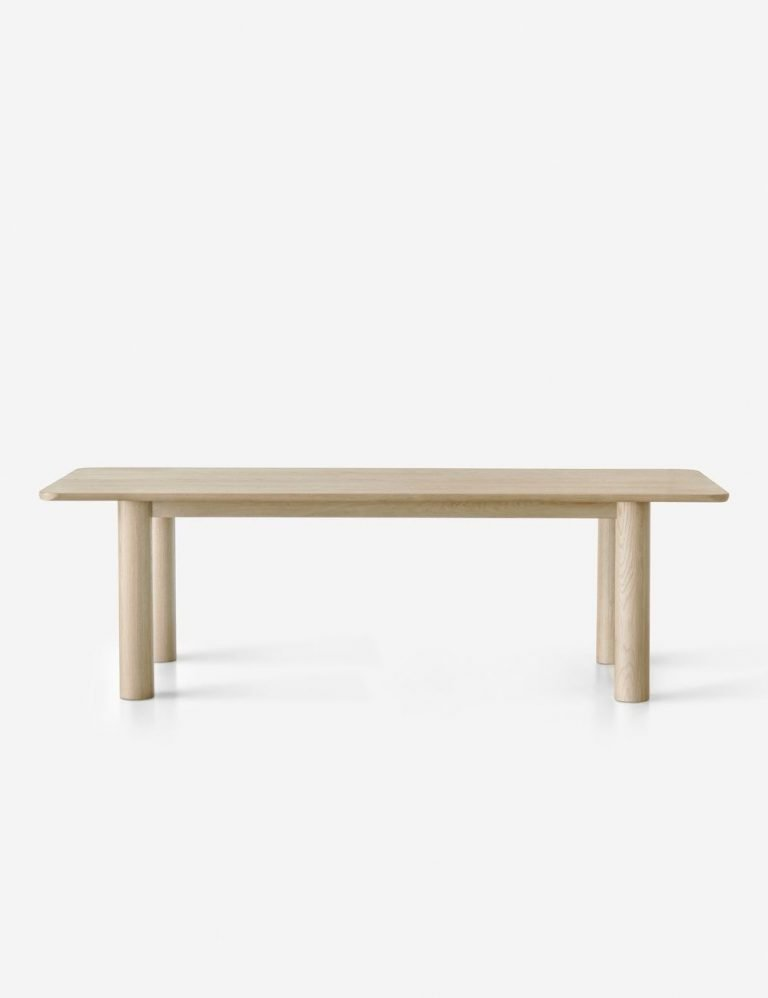 Sun at Six Arc Dining Table, Nude