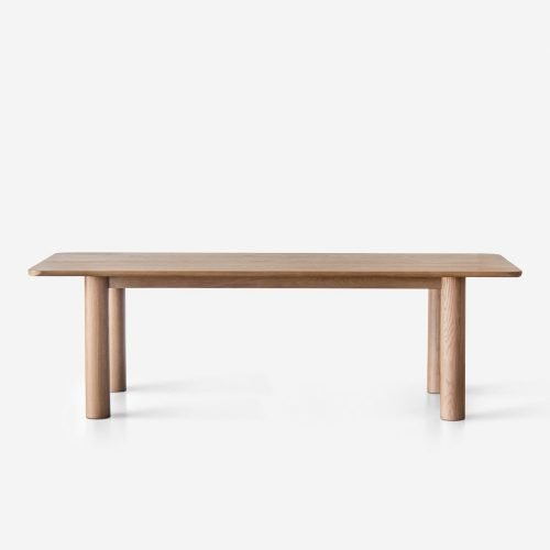 Sun at Six Arc Dining Table, Sienna