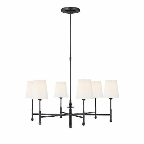 TOB by Thomas OBrien Capri Chandelier - Color: Black - TC1016AI