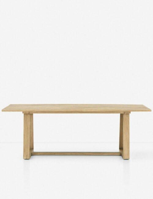 Tika Indoor / Outdoor Dining Table, Brown