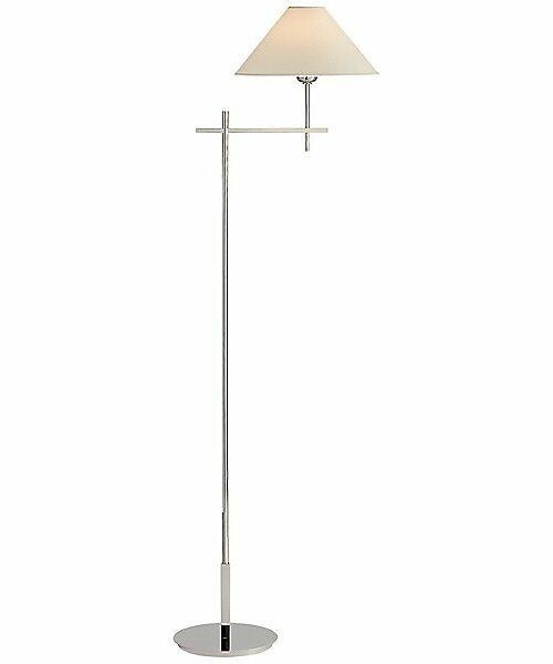 Hackney Bridge Arm Floor Lamp by Visual Comfort - Color: Silver - Finish: Polished Nickel - (SP 1023PN-NP)