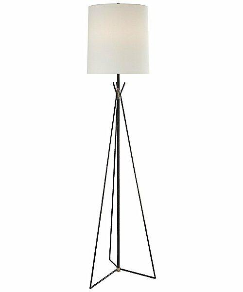 Tavares Floor Lamp by Visual Comfort - Color: Black - Finish: Iron - (TOB 1390AI/HAB-L)