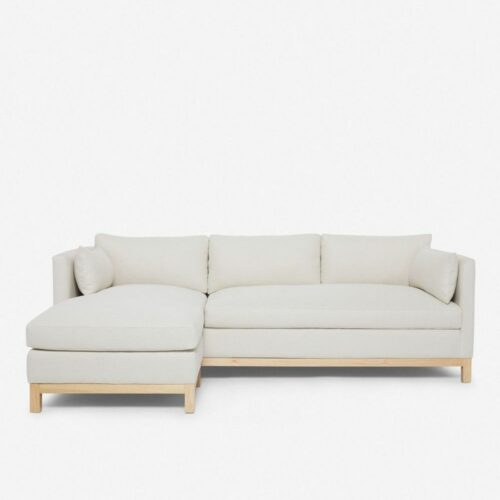 Hollingworth Left-Facing Sectional Sofa, Natural By Ginny Macdonald