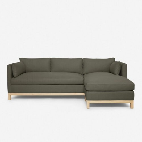 Hollingworth Right-Facing Sectional Sofa, Loden By Ginny Macdonald