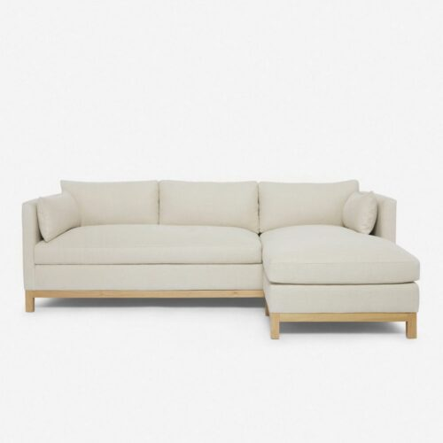 Hollingworth Right-Facing Sectional Sofa, Natural By Ginny Macdonald