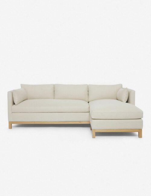 Hollingworth Right-Facing Sectional Sofa, Natural By Ginny Macdonald