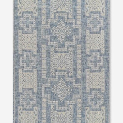 Ashanti Indoor / Outdoor Rug, Blue