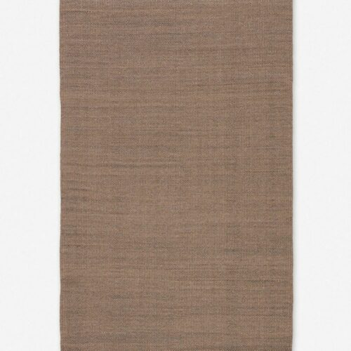 Davies Indoor / Outdoor Rug, Tan and Black