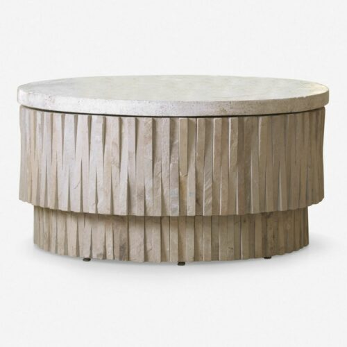 Dresdin Indoor / Outdoor Round Coffee Table