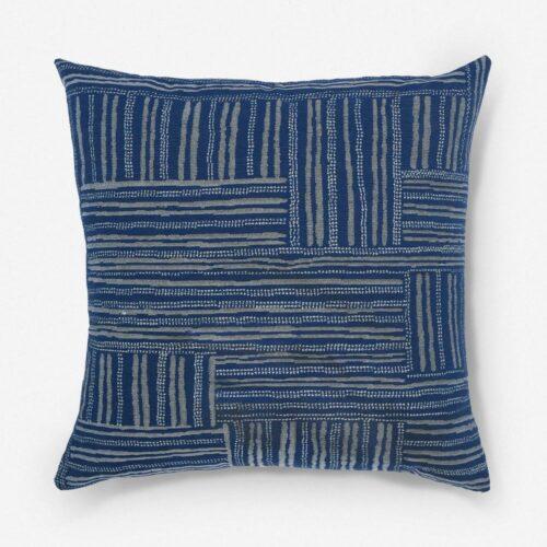 Gabriella Indoor / Outdoor Pillow, Indigo