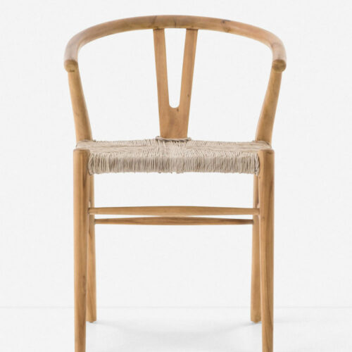 Gradie Indoor / Outdoor Dining Chair, Natural