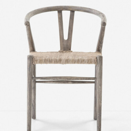 Gradie Indoor / Outdoor Dining Chair, Weathered Gray