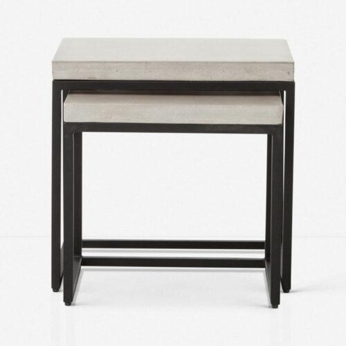 Kallia Indoor / Outdoor Nesting Side Tables (Set of 2)