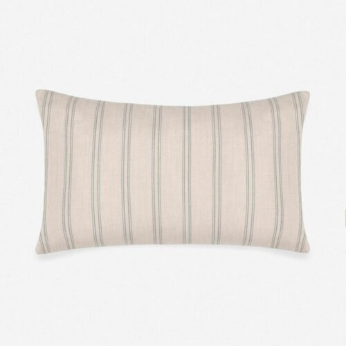 Marseille Indoor / Outdoor Lumbar Pillow, Slate