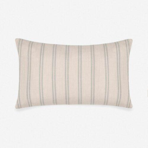 Marseille Indoor / Outdoor Lumbar Pillow, Slate