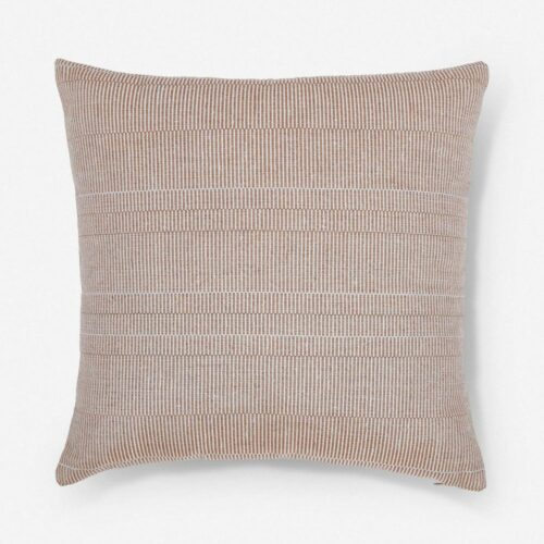 Milan Indoor / Outdoor Pillow, Rust