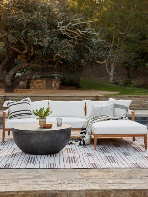 Ohana Indoor / Outdoor Round Coffee Table