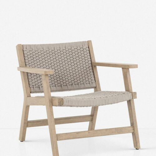 Ylva Indoor / Outdoor Accent Chair, Natural