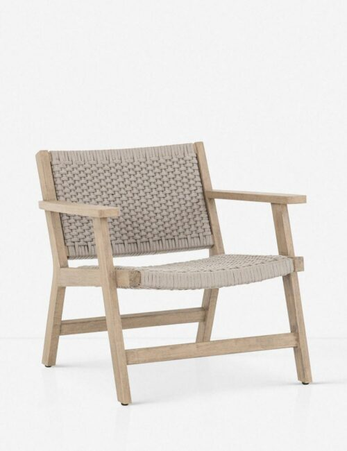 Ylva Indoor / Outdoor Accent Chair, Natural